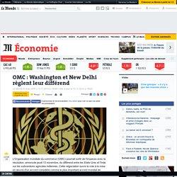OMC : Inde EU