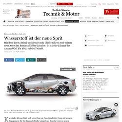 Wasserstoff-Autos von Toyota & Honda mit Brennstoffzellen