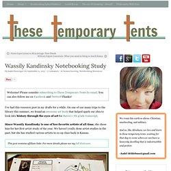 Wassily Kandinsky Notebooking Study
