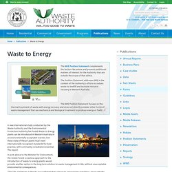 Waste Authority WA