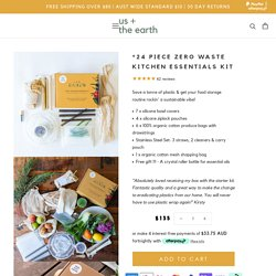 Zero Waste Kitchen Essentials – Us and The Earth