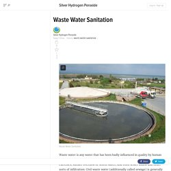 Waste Water Sanitation