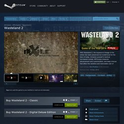 Wasteland 2 on Steam