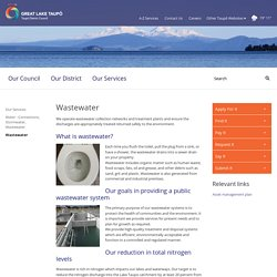 Wastewater - Taupo District Council