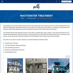 Praj Industrial Water Treatment Systems