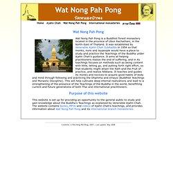 Wat Nong Pah Pong - วัดหนองป่าพง
