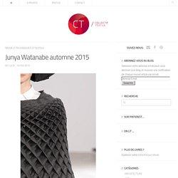 Junya Watanabe automne 2015