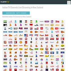 Watch Indian TV Channels Live in New Zealand