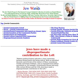Jewish Communists - Jews and Communists