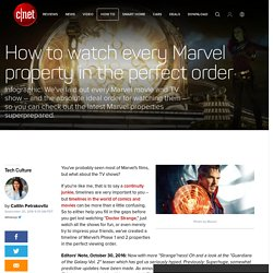 How to watch every Marvel property in the perfect order
