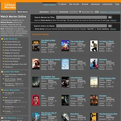 Watch Movies Online - Download Movies - Watch Free Online TV-Shows
