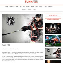 Watch NHL - Tunning360