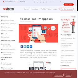 10 Best Free TV Apps [Watch TV Shows Online]