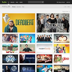 Most Popular / All Channels - Hulu