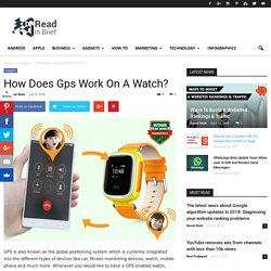 Best GPS Watch For Running and Hiking, GPS Watch, Smart Watch