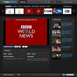 BBC World News - Watch live TV channel in high quality