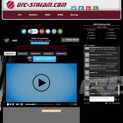 Watch WWE Live Streaming free