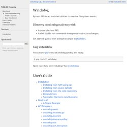 Watchdog — watchdog 0.8.2 documentation
