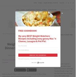 Weight Watchers Friendly Dinner: Chicken Skillet ZERO Points