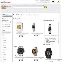 Casio Titan Watches Online: Buy titan watches for Men & Ladies