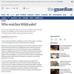 [2010] Who watches WikiLeaks? | Media