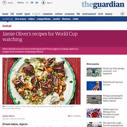Jamie Oliver's recipes for World Cup watching