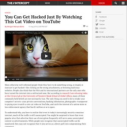You Can Get Hacked Just By Watching This Cat Video on YouTube