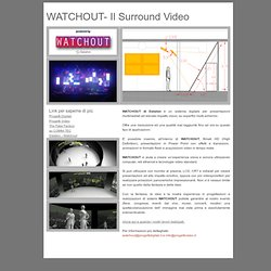 WATCHOUT - Il Surround Video