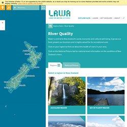Land, Air, Water Aotearoa (LAWA) - River Quality