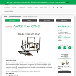 Water Play Combi - WSP106 - Creative Play UK