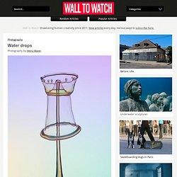 Water drops - Wall to Watch - StumbleUpon