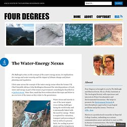 The Water-Energy Nexus