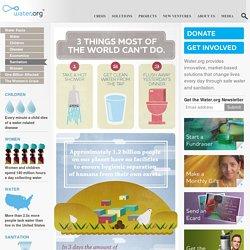 Water Facts: Sanitation