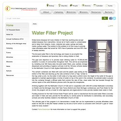 Water Filter Project