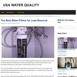 The 12 Best Water Filter for Lead Removal Reviews in 2021