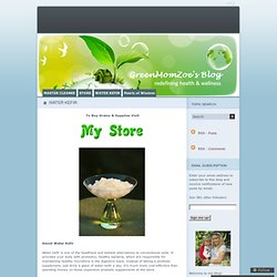 Buy Water Kefir Grains «