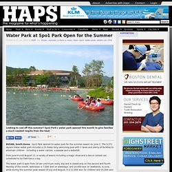 Water Park at Spo1 Park Open for the Summer - Busan Haps