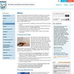 Water Pollution Facts, Effects of Water Pollution, Clean Water Act