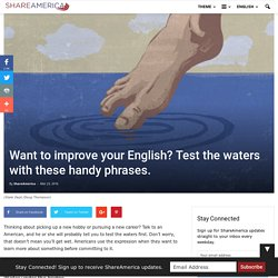 7 water-related American idioms