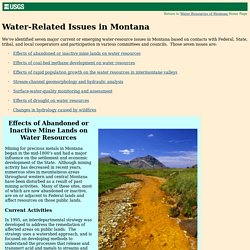 Water-Related Issues in Montana