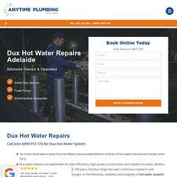 Dux Hot Water Repairs Adelaide