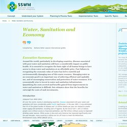Water, Sanitation and Economy