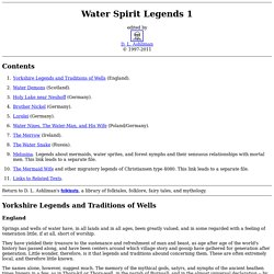 Water Spirit Legends 1
