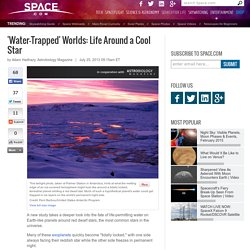 'Water-Trapped' Worlds: Life Around a Cool Star