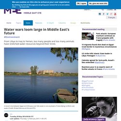 Water wars loom large in Middle East's future