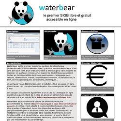 Waterbear : le premier SIGB gratuit accessible en ligne