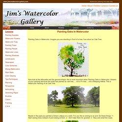 Jim's Watercolor Gallery