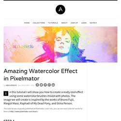 Amazing Watercolor Effect in Pixelmator