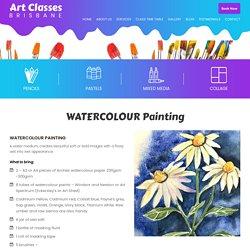 WATERCOLOUR Painting - Art Classes Brisbane