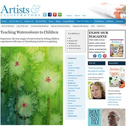 Teaching Watercolours to Children